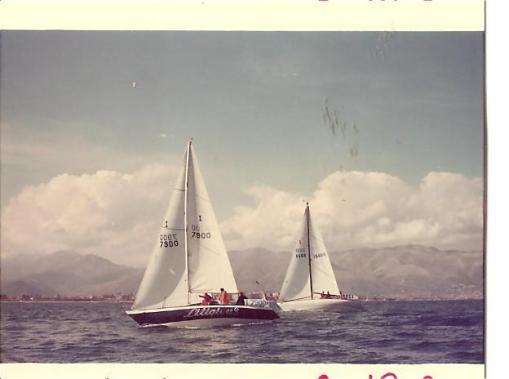 Litigious alle regate di Alassio nel 1979