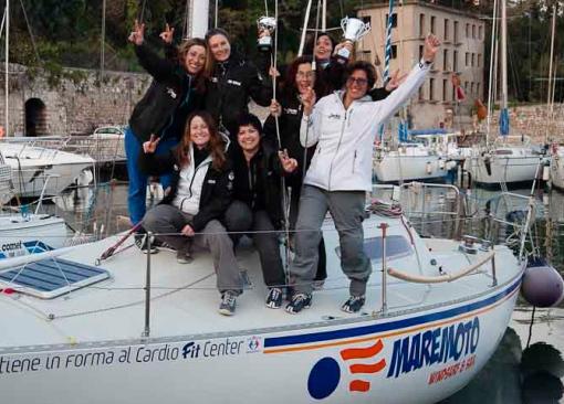 Maria Letizia Grella ed il suo equipaggio