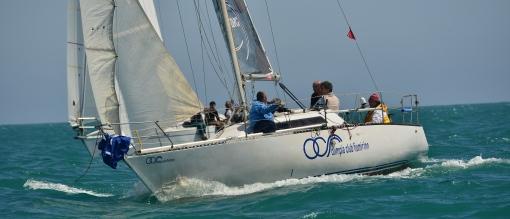 Flama di Giacomo Miraglia pur in carenza di equipaggio centra un 4° posto nella prova 4 e chiude al 7° posto in classifica generale.